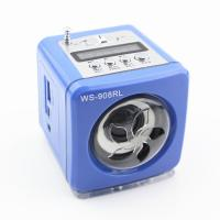 Mini Cubic Speaker&Radio with LED light
