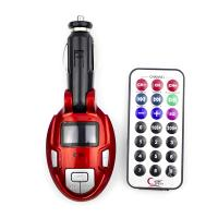 Car Music Player+FM Transmitter with Remote Control